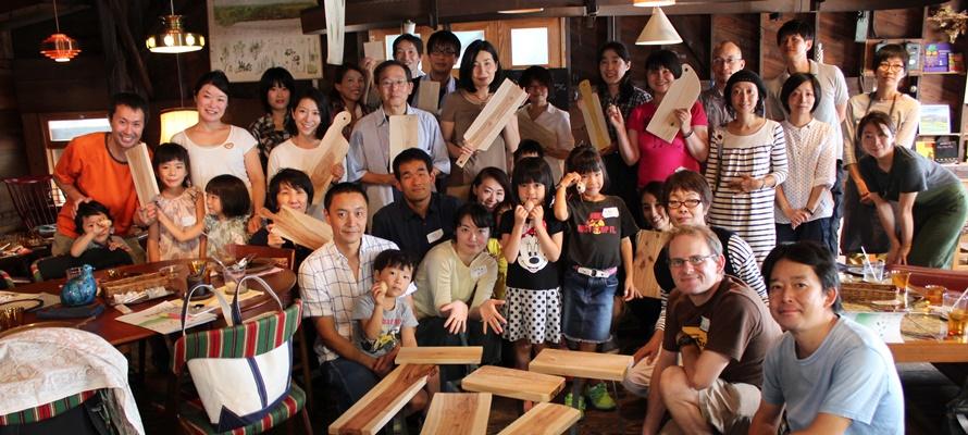 【2/4】六甲山天然木のカッティングボードづくり×ミーティングvol.3