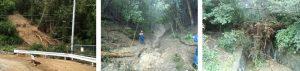 六甲山の現状土砂災害